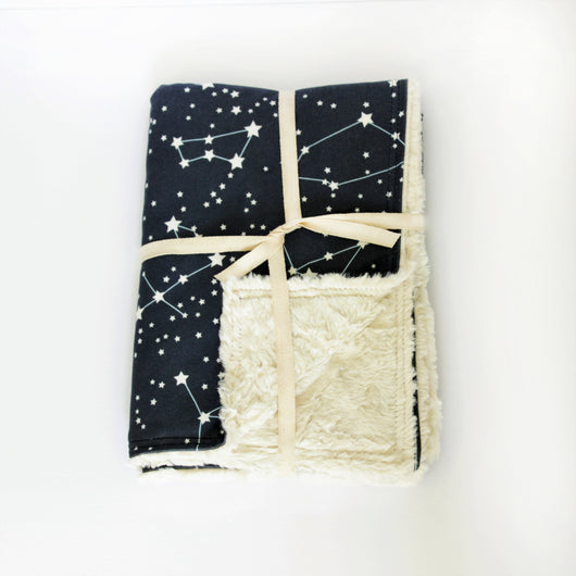 Baby Blanket - Constellation Print