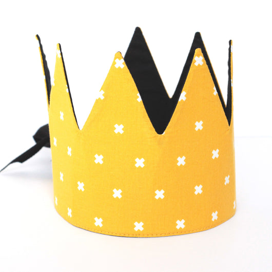 Dress-Up Playtime Crown - Yellow