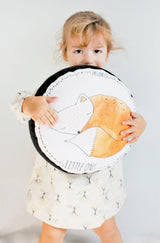 Round Fox Pillow