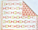 Red & Pink Cot Quilt