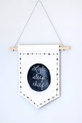 Canvas Banner - Little Sleep Thief