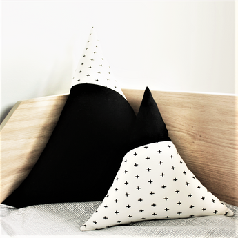 Fabric Mountain Pillows (Set of 2)