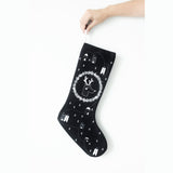 Christmas Stocking - Black