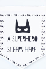Fabric Banner - Superhero