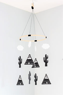 Teepee and Cactus Mobile