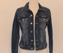 Blue Denim Jacket with Blue Buckle Scarf