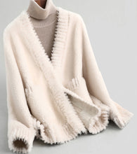 Shearling Teddy Cardigan Jacket