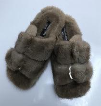Women's and Men's Genuine Mink Shoes / Slides