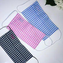 Gingham Mask for Adults and Kids