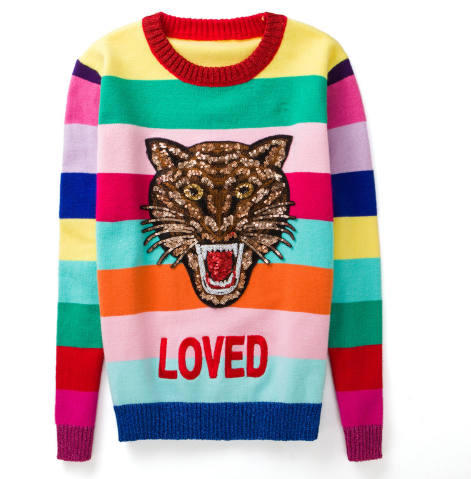 Rainbow LOVED Sweater