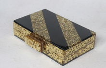 Black and Gold Acrylic Clutch/Bag