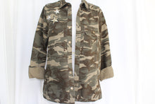 Camouflage Jacket with Stars