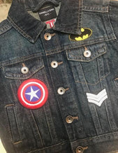 Boys Personalized Super Hero Denim Jacket