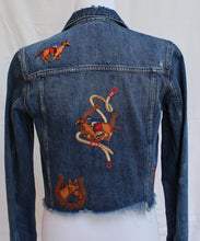 Custom Denim Equestrian Jacket