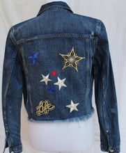 "CUSTOM DENIM ""TWINKLE"" JACKET"