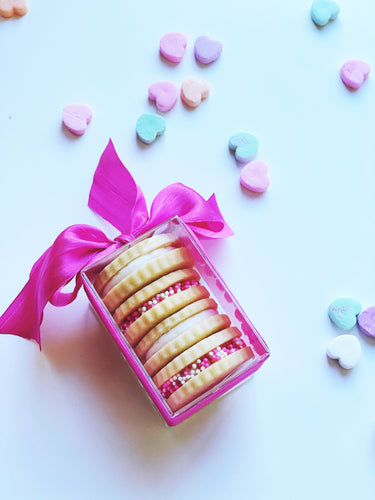 Buttercream Sandwich Cookies- Valentine's Day