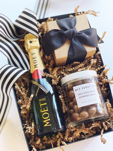 Champagne and Sweets (Black Ribbon)