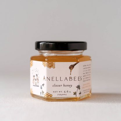 Anellabees- Raw Clover Honey