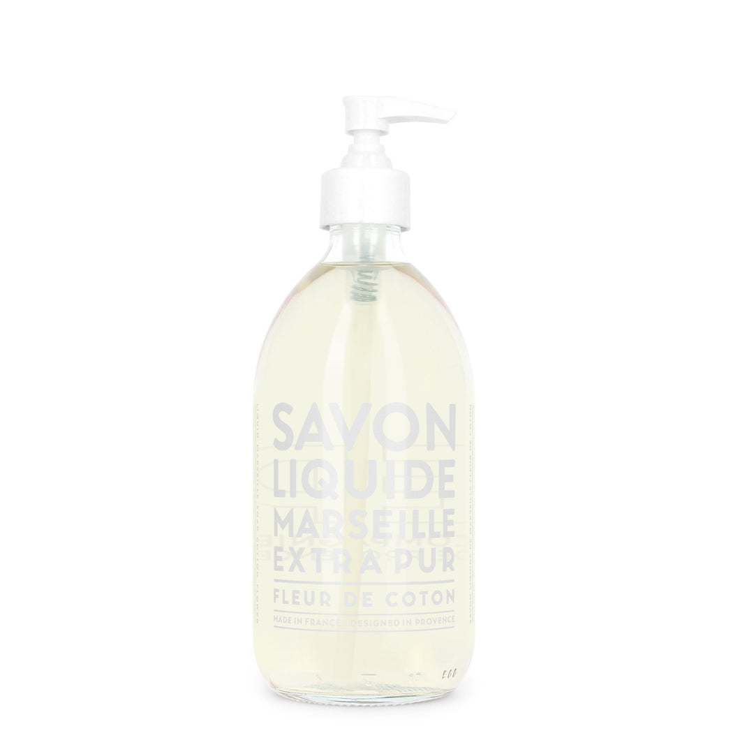 Liquid Marseille Hand Soap- Cotton Flower