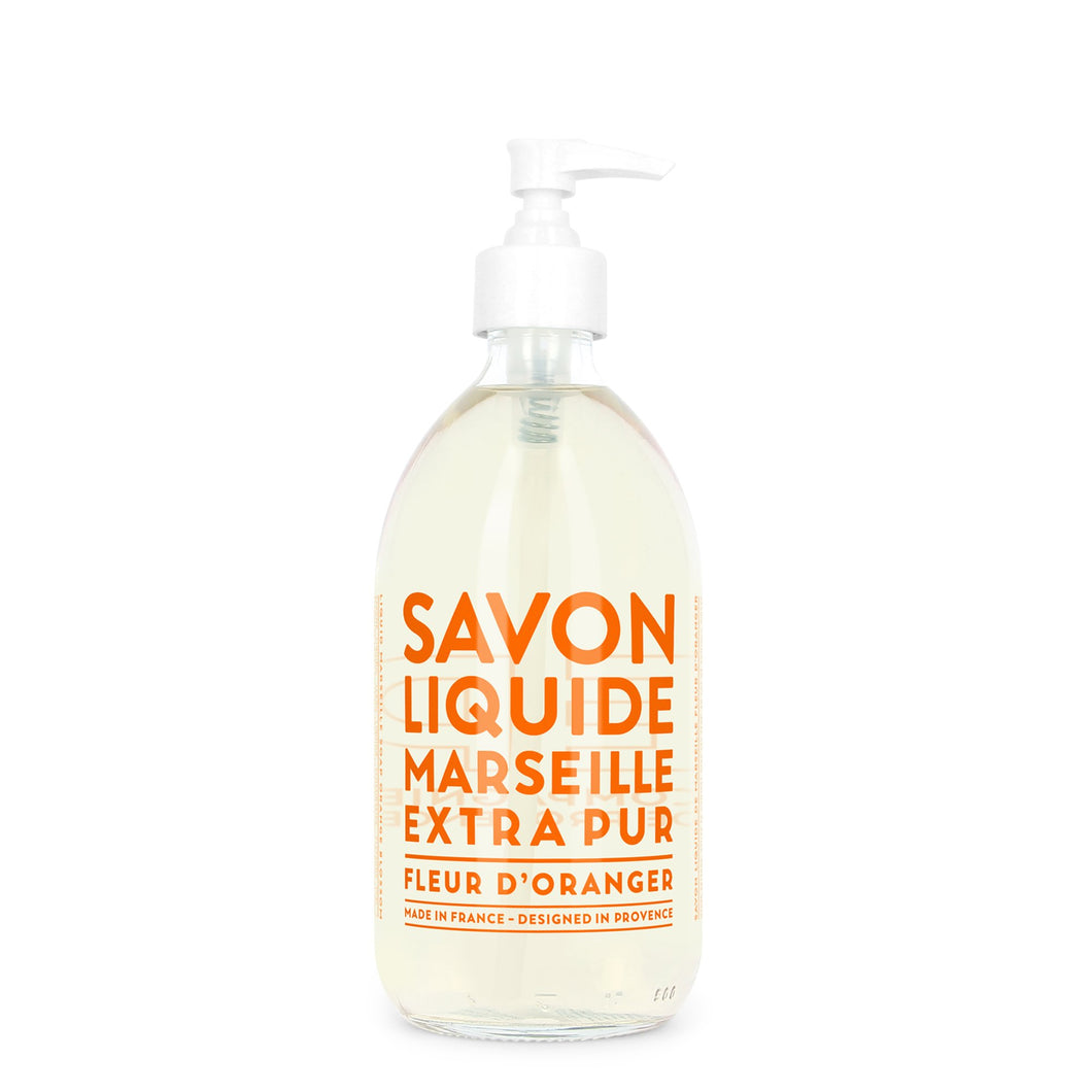 Liquid Marseille Hand Soap- Orange Blossom