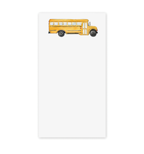 School Bus Notepad