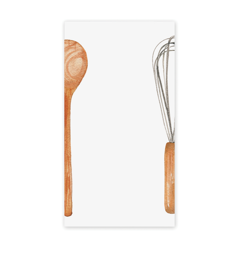 Spoon & Wisk Notepad