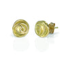 Rose Bud Studs 18K gold