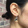 Flared Earrings Smooth