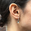 Sterling Silver Flourish Earrings