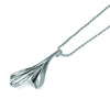 Sterling Silver Vine Leaf Necklace
