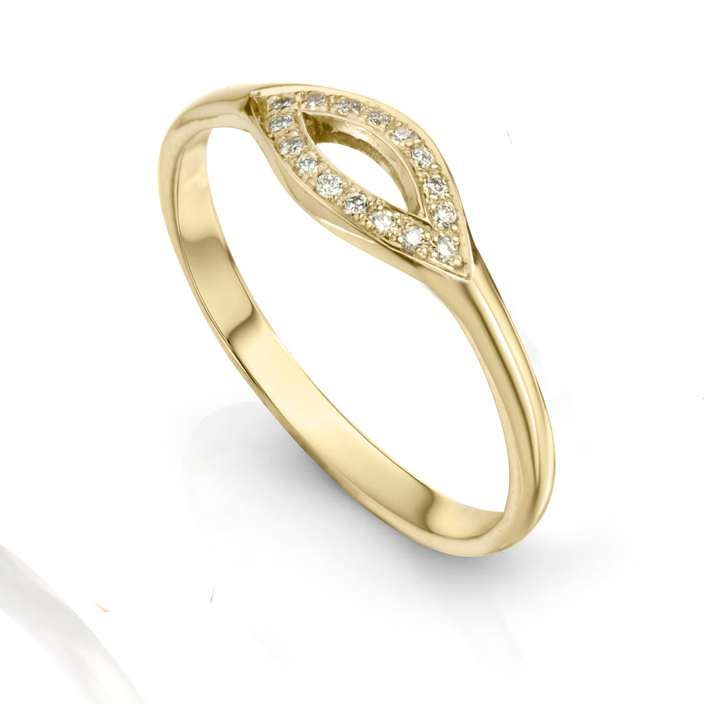 Marquee Ring 18K Yellow Gold