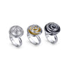 Rose Bud Rings