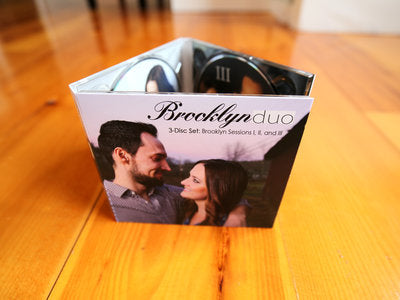 CD - Brooklyn Duo - 3-Disc Set - Sessions I, II, & III