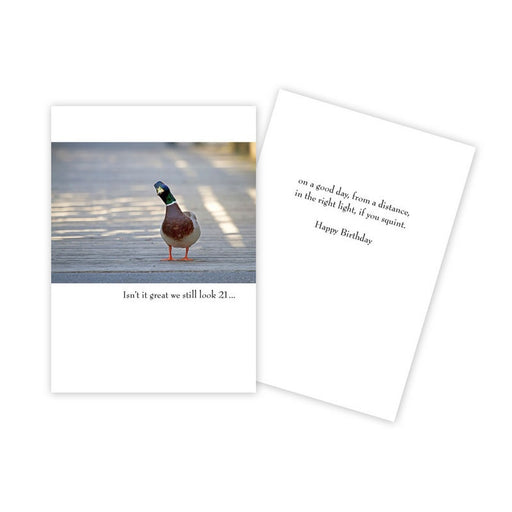 Notecard - Birthday - Duck - 0269
