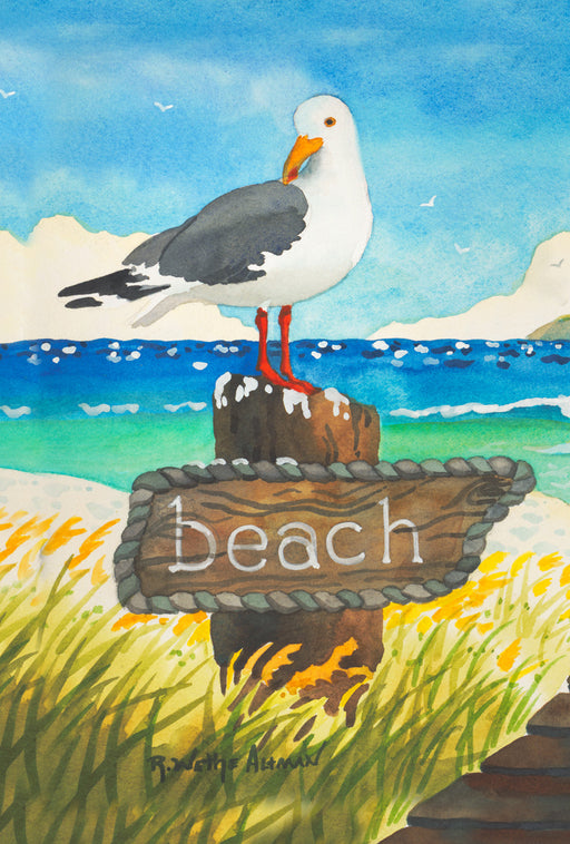 Garden Flag - Beach Bird - 1010280