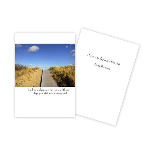 Notecard - Birthday - Path to Beach - 1038