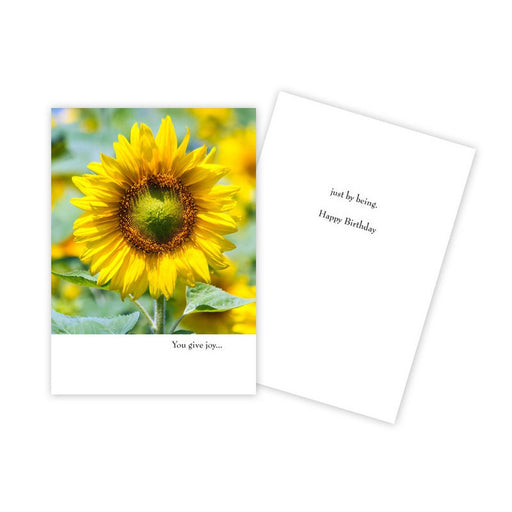 Notecard - Birthday - Sunflower - 1045