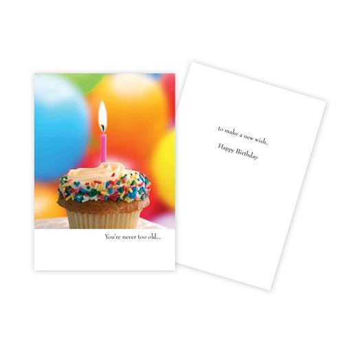 Notecard - Birthday - You're Never Too Old - 1087