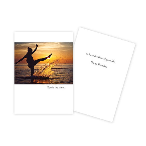 Notecard - Birthday - Now is the Time - 1089