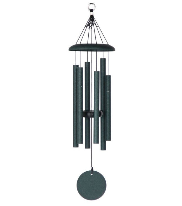 "Windchimes - Corinthian Bells - 27"" - Green"