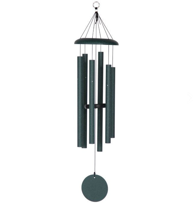 "Windchimes - Corinthian Bells - 36"" - Green"