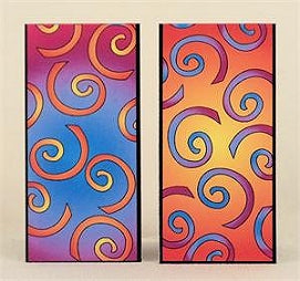 Magnetic Bookmark - Swirl - MBK248