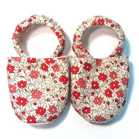 Baby Shoes - 0-6 months - Vintage Coral