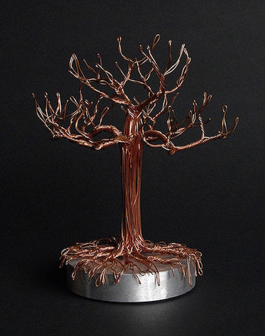 Copper Ring Tree