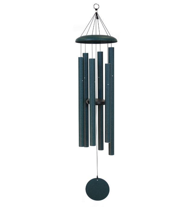 "Windchimes - Corinthian Bells - 44"" - Green"