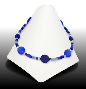 Anklets - Gemini - Bright Blue - AGE5457