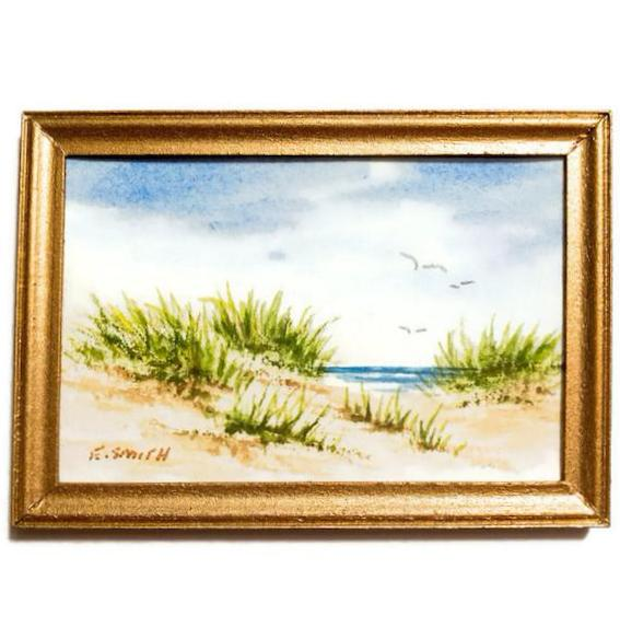 Original - Miniature - 2x3 - Watercolor - Nauset Dunes - 12