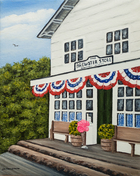 Original - 8x10 - Oil - Brewster Store - 82