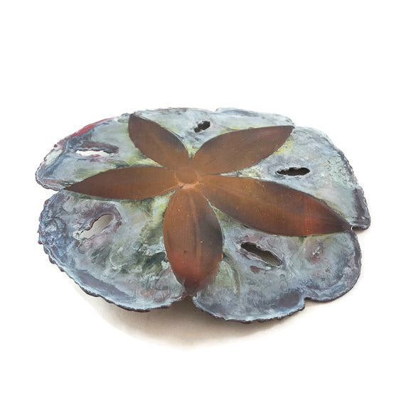 Copper Sand Dollar - Wall Hanging - Small