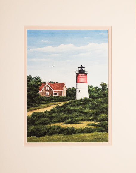 Print - 11x14 - Nauset Light - Tan Matte